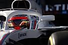 Formula 1 Williams, yeni aracını bugün Kubica ile piste çıkarttı