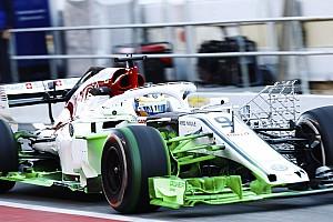 Formel 1 Reaktion Sauber im Aufwind: Viele neue Teile beim Wintertest