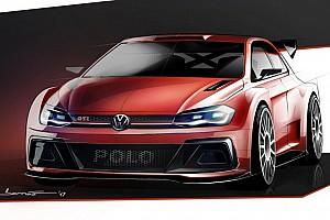 WRC Pressemitteilung Volkswagen zeigt erste Skizze des Polo R5