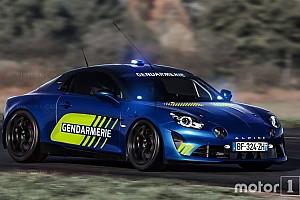 Auto Actualités Une Alpine A110 en version Gendarmerie