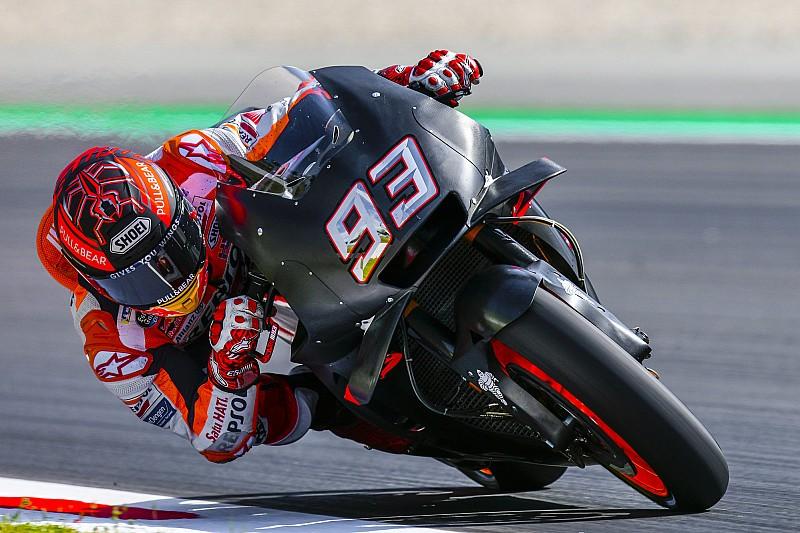 """Márquez dice haber probado """"una pieza importante"""" en la Honda"""