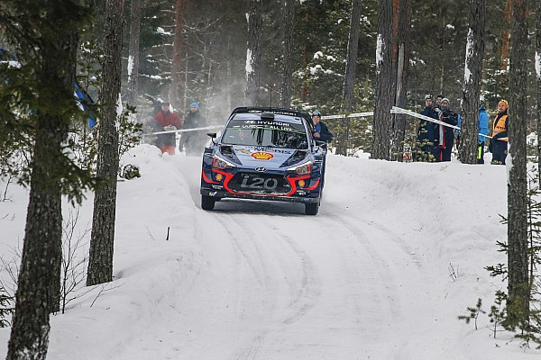 Sweden WRC: Neuville holds narrow lead over Breen