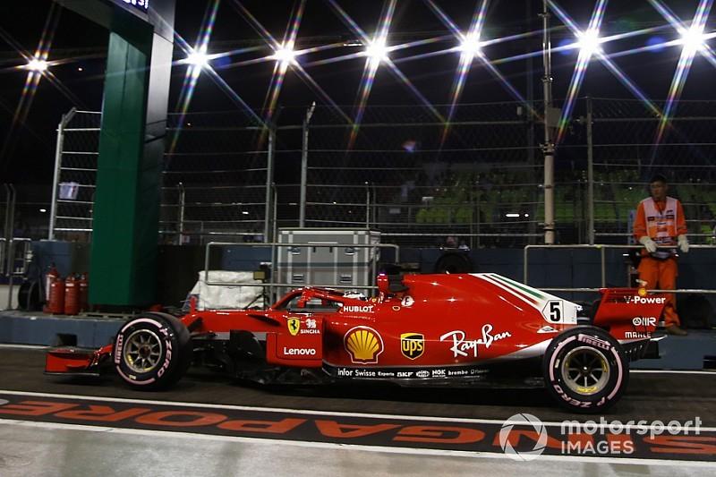 Vettel: Ferrari 2. antrenmanda yanlış ayarlara geçti
