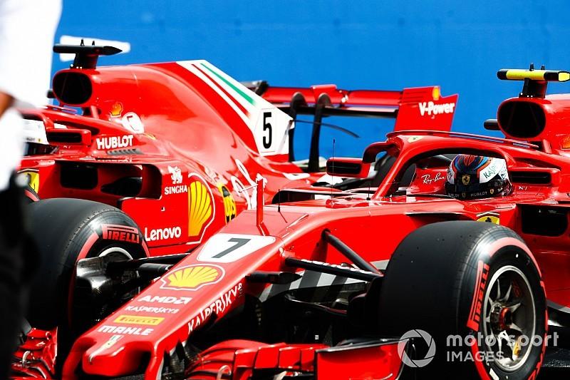 "F1日本GPのドライバー別タイヤセット数発表。フェラーリ""勝負""の選択"