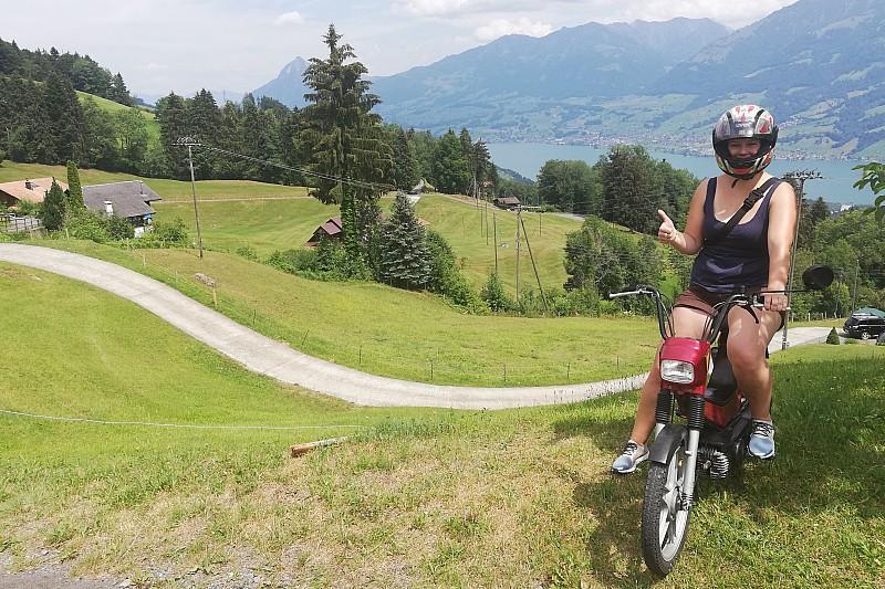 Vive Annik Scholzen, du canton de Lucerne avec grande fureur !