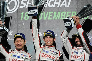 Shanghai WEC: Toyota takes 1-2 in stop-start race