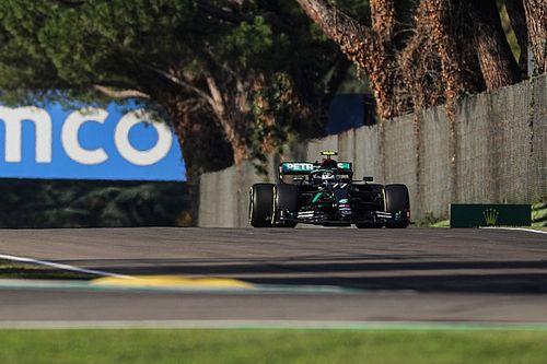 Bottas glundert na 15de pole, Hamilton baalt van 'slechte ronde'