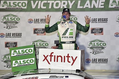 Chase Briscoe tops Gragson at Las Vegas for Xfinity win No. 8