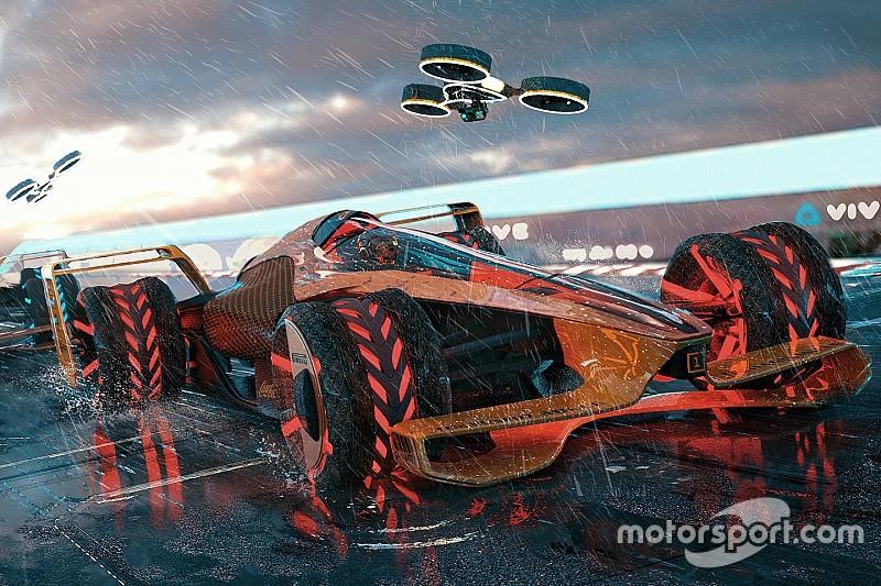 McLaren, 2050 yılı grand prix konseptini yayınladı