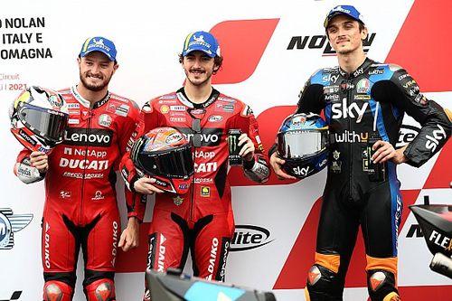 La parrilla de salida GP de Emilia Romagna MotoGP