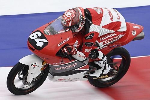 Mario Aji Nikmati Sensasi Melaju bersama Rider Top Moto3