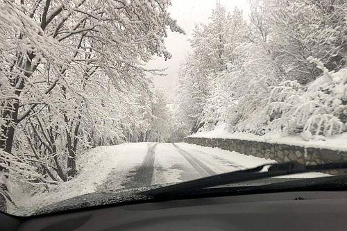 WRC, ACI Rally Monza Italia: la neve copre le speciali!