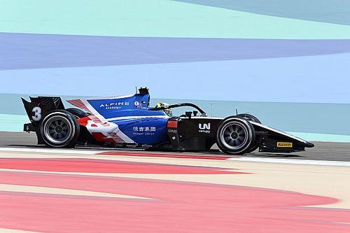 فورمولا 2: زو يقتنص قطب الانطلاق الأول في البحرين لكن مركزه قيد التحقيق