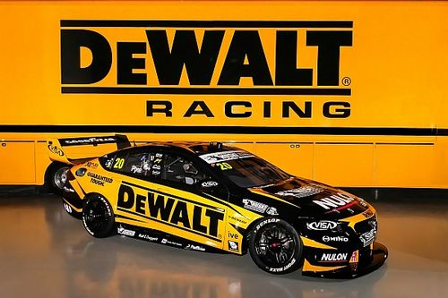 Team 18 brings new sponsor DeWalt to Supercars