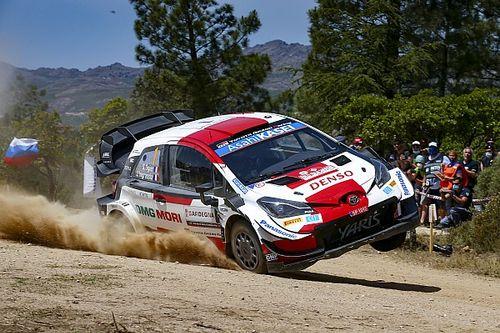 Ogier leidt WK Rally Sardinië na dramatische dag voor Hyundai