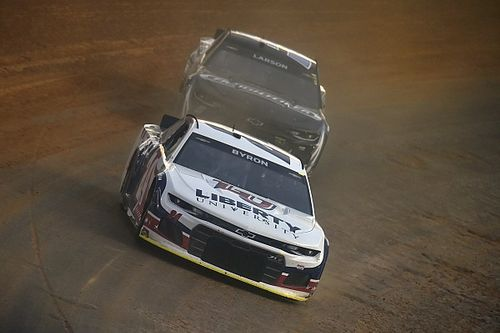 Bristol NASCAR Cup race on dirt postponed until Monday due to rain
