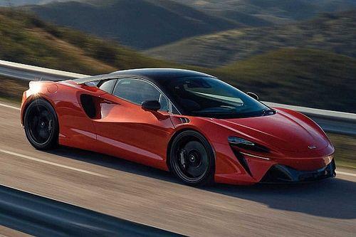 Así rendirá el McLaren Artura híbrido