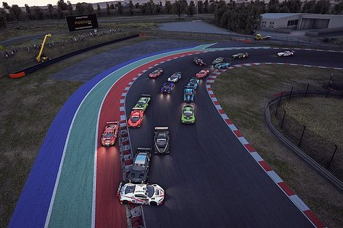 El título del SRO GT Esports se resuelve con emoción