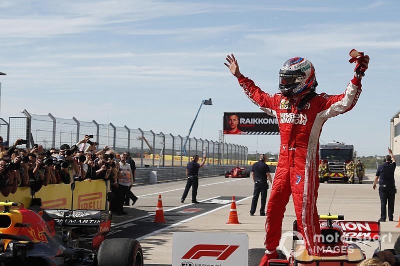 Räikkönen, vainqueur: