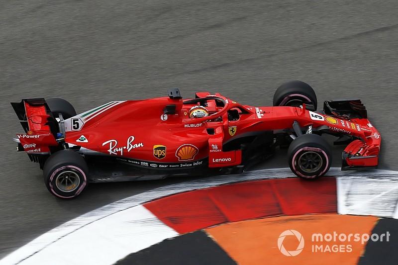 Vettel lidera la primera práctica en Rusia por delante de Verstappen