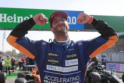 Italian GP: Ricciardo gives McLaren first F1 win since 2012