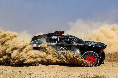آودي تُكمل أسبوعين من التجارب في المغرب مع سيارتها لرالي داكار