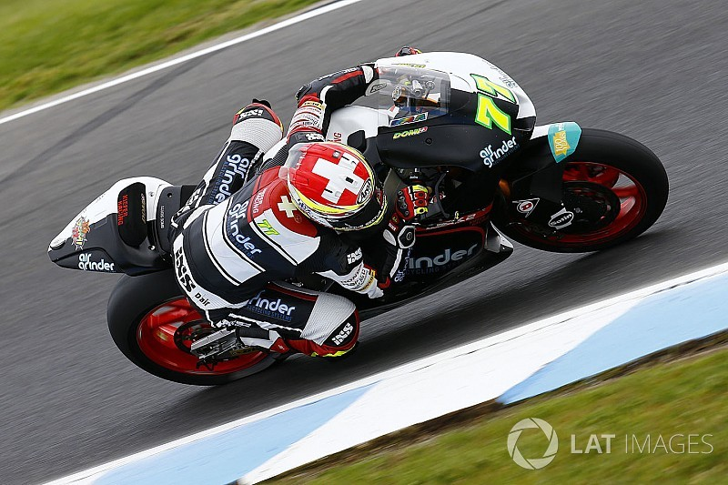 Aegerter Moto2 kariyeri için kitlesel fon kampanyası başlattı
