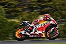 Australian MotoGP: Marquez edges clear of frantic battle for victory