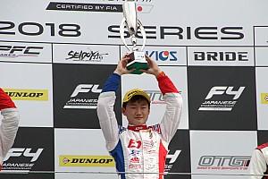 FIA-F4選手権 速報ニュース FIA-F4第3戦富士:ポールの角田裕毅、名取鉄平を抑えきり今季2勝目