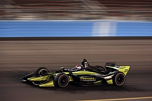 IndyCar Practice report Phoenix IndyCar: Kimball tops night practice for Carlin