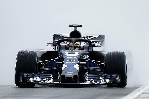 Formule 1 Actualités Le shakedown de Red Bull perturbé par un crash