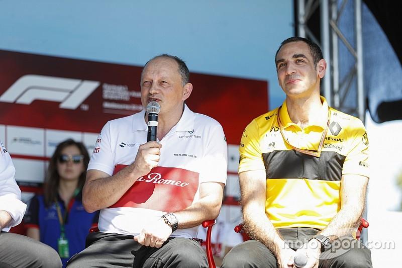 Vasseur n'a aucune amertume envers Renault