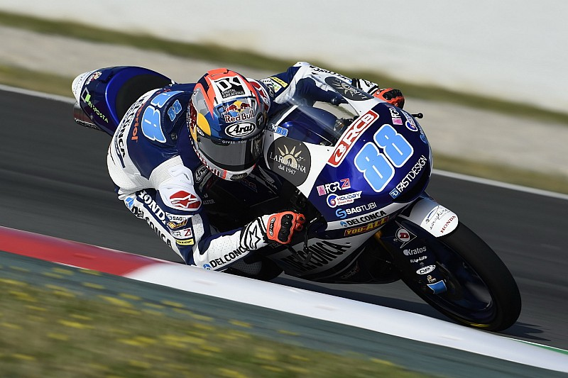 Moto3 Assen: Martin aan kop in eerste training Dutch TT