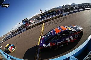 NASCAR Cup Breaking news Hamlin loses his title shot: