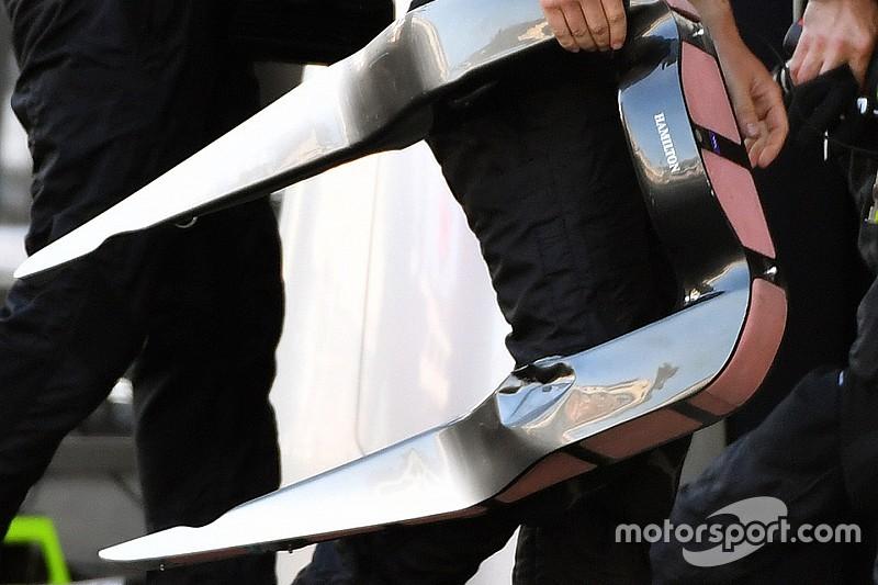 Mercedes cambia el diseño del apoyacabezas tras el problema en Bakú