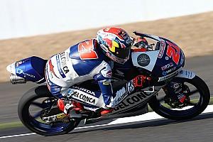 Moto3 Verslag vrije training Di Giannantonio leidt Gresini-dubbel in tweede training, crash Bendsneyder