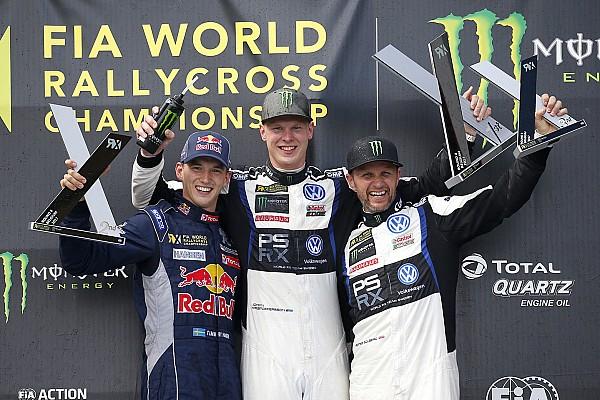 WK Rallycross Raceverslag WRX Mettet: Kristoffersson grijpt nipte zege voor Hansen