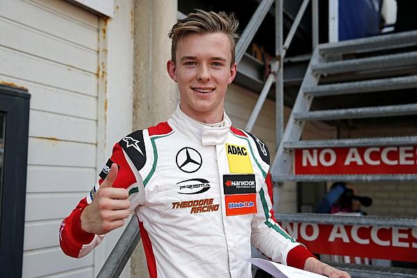Илотт выиграл вторую гонку Ф3 в Хоккенхайме