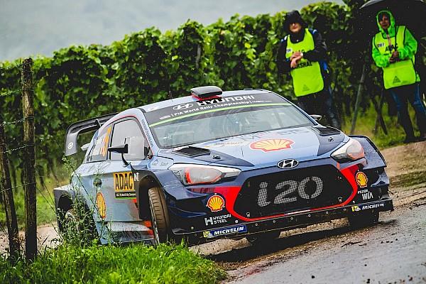 WRC Prova speciale Germania, PS9: Neuville sfortunato, la sua i20 va K.O!