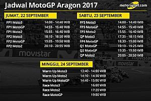 MotoGP Preview Jadwal lengkap MotoGP Aragon 2017