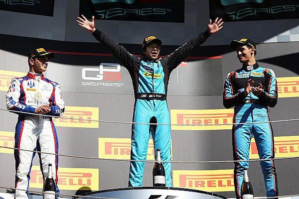 Barcelona GP3: New Haas junior Maini scores maiden win