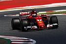 Райкконен показал лучшее время третьей тренировки Гран При Испании