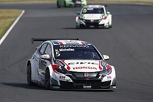 WTCC Race report Motegi WTCC: Michelisz heads first-ever Honda 1-2-3 in Race 1