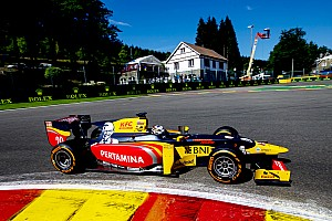 FIA F2 Qualifying report Spa GP2: Giovinazzi beats Gasly to pole, Sirotkin only 13th