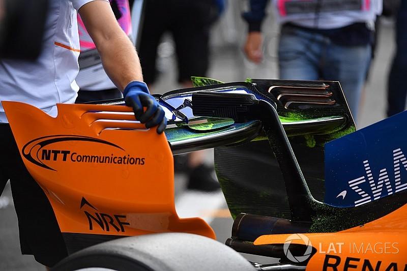 Гран При Бельгии: шпионские фото технических новинок. Часть 2