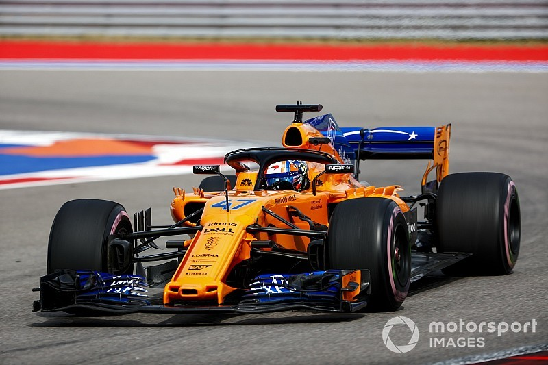 Norris, McLaren'la Japonya'daki ilk seansta piste çıkacak