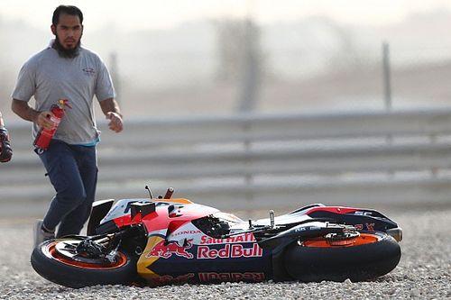 """MotoGP: Márquez encontra Honda em situação """"crítica"""" em seu retorno"""