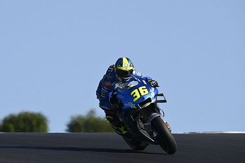 "Suzuki felt no added pressure by ""perfect"" bike label"