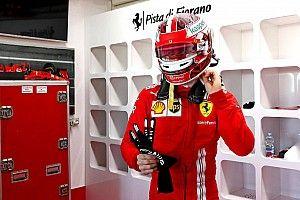 Leclerc hersteld van corona en direct achter het stuur op Fiorano