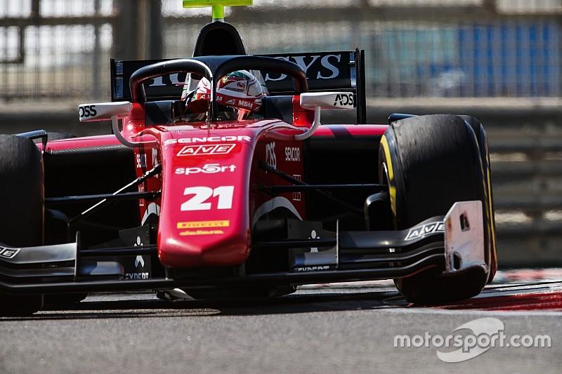 F2 Abu Dhabi: Fuoco wint seizoensafsluiter, De Vries vijfde